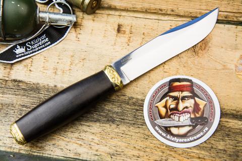 Тактический нож Рубеж-2 дерево граб