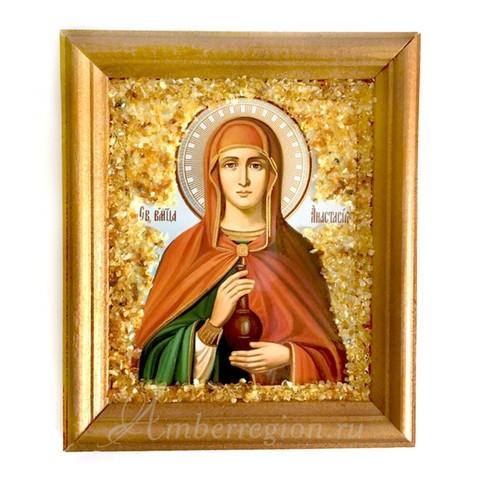 Икона Святой Анастасии Узорешительницы