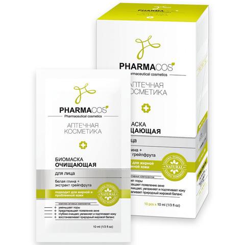 Витэкс Pharmacos Биомаска для лица очищающая 10 мл