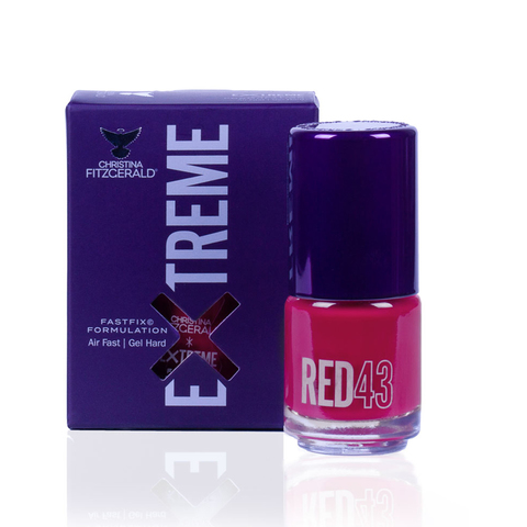 Лак для ногтей Extreme - Red 43 Christina Fitzgerald