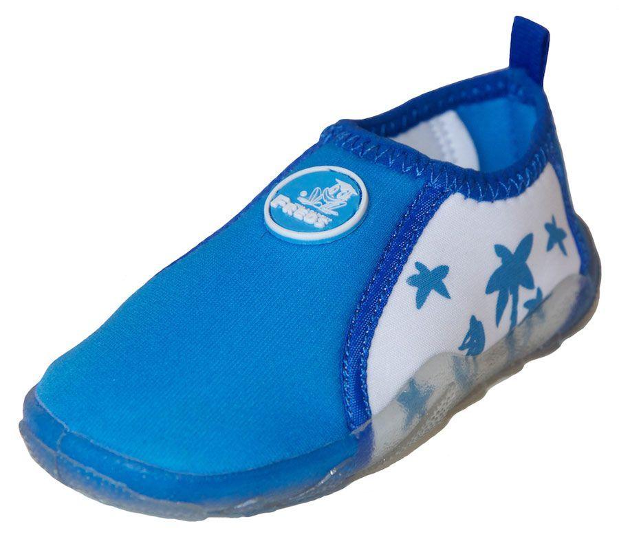 de56cc068bec Аква-обувь для пляжа, голубая, р. 22-28