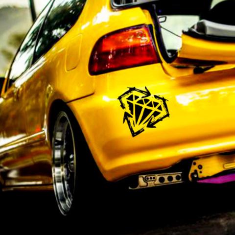 Виниловая наклейка на автомобиль в стиле JDM