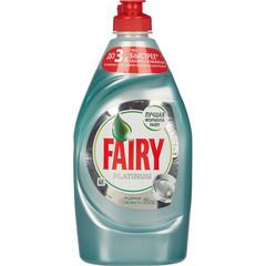 Средство для мытья посуды FAIRY Platinum  Ледяная свежесть 430мл