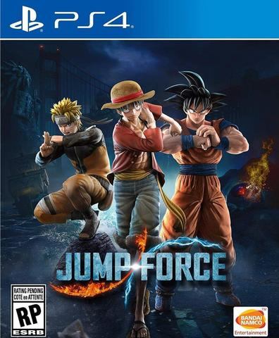 Sony PS4 Jump Force (русские субтитры)