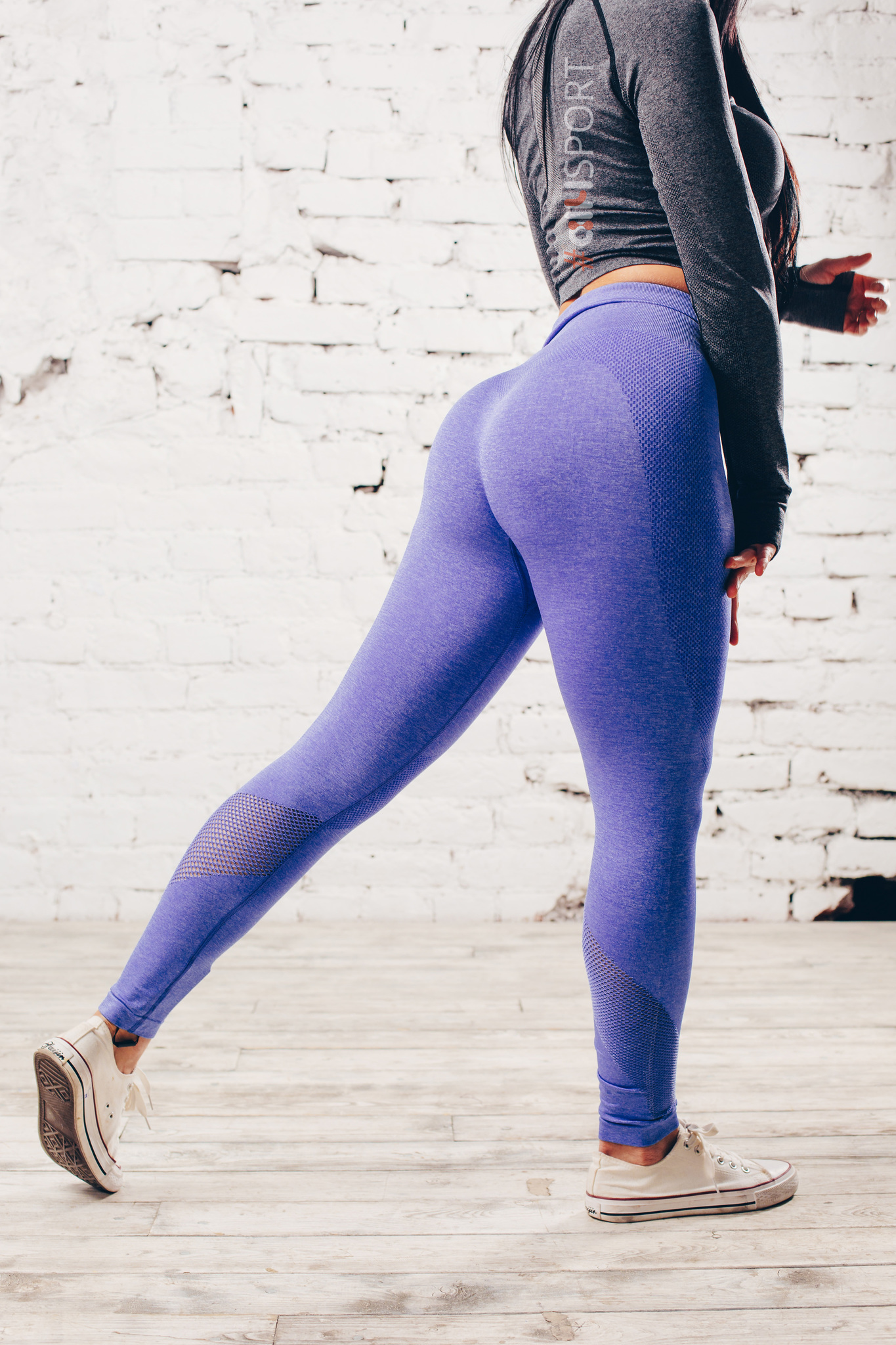 Женские лосины Ryderwear Seamless Tights - Cobalt Blue