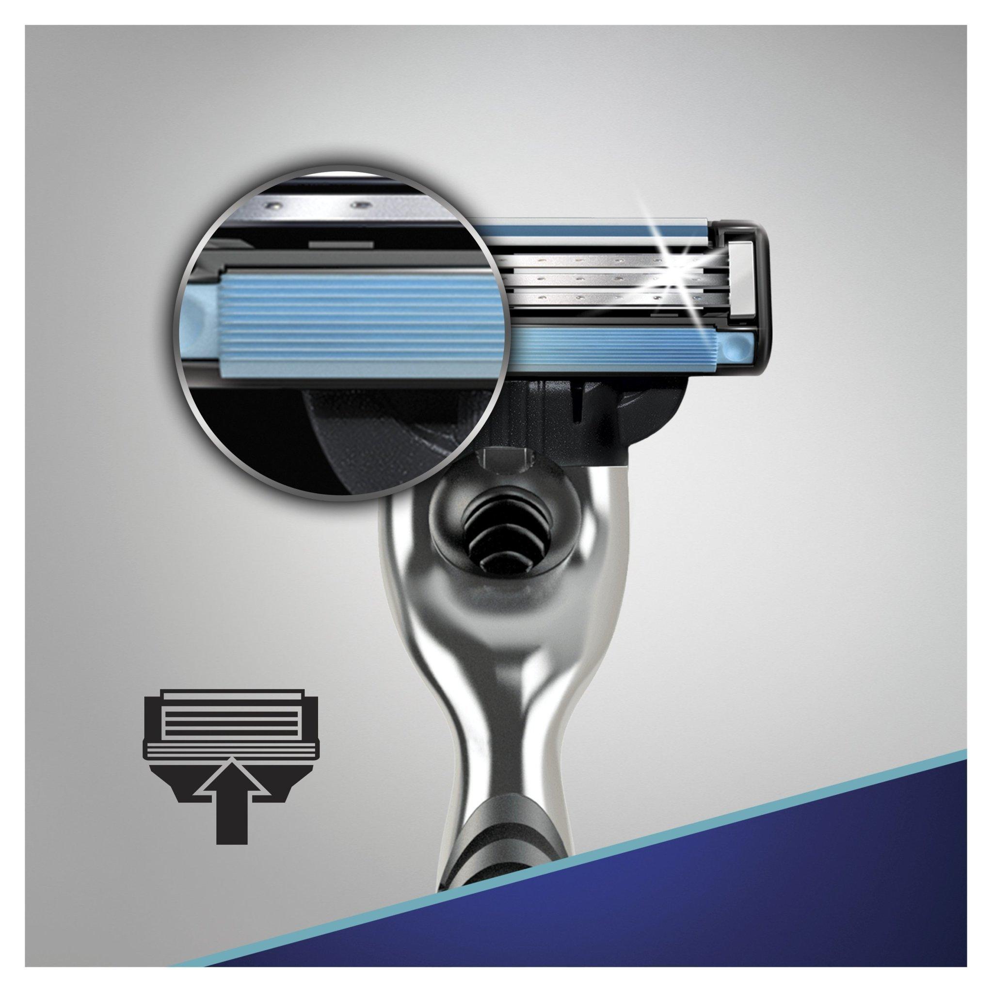 Gillette mach3 комплект (5х8) 40 шт. (Цена за 1 пачку 748р.)