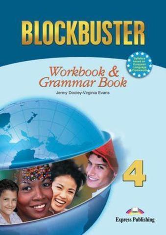 Blockbuster 4. Workbook & Grammar Book. Intermediate. Рабочая тетрадь и грамматический справочник