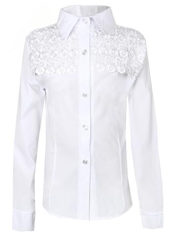 0230 блузка детская, белая
