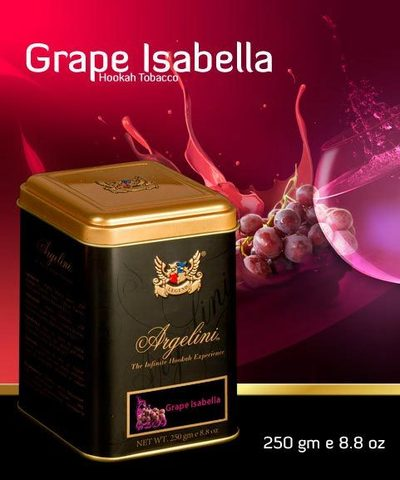 Табак для кальяна Argelini Grape isabella 250 гр.