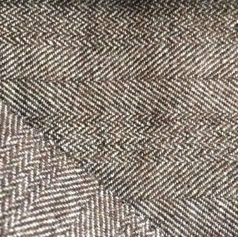 шерстяная костюмная ткань в ёлочку