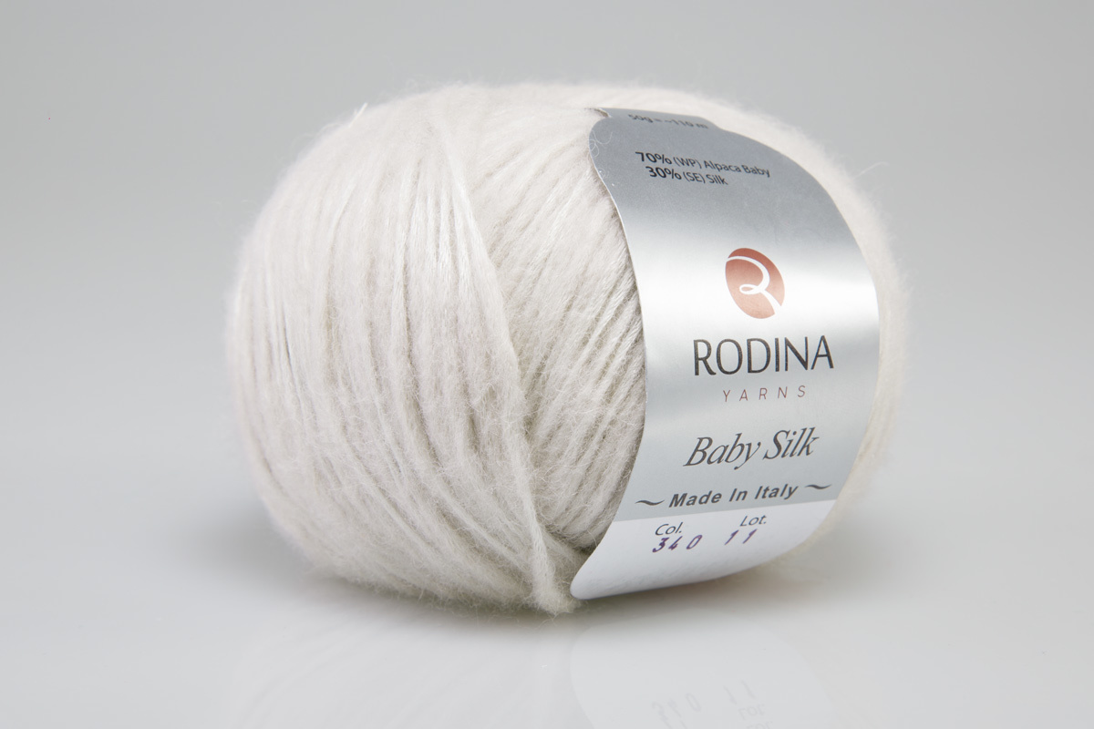 Пряжа BABY SILK Rodina Yarns