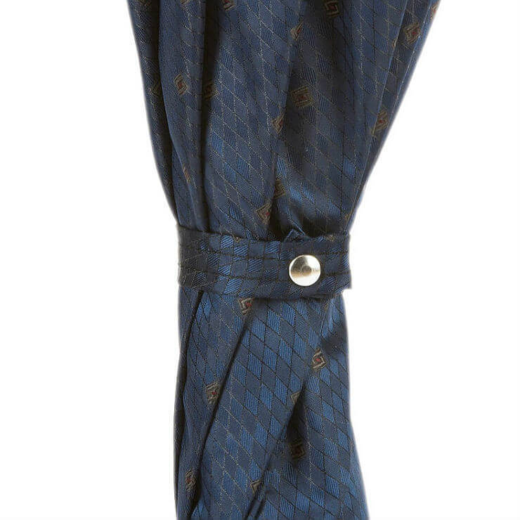 Зонт-трость Pasotti-6279-3 N36-Gents with Navy Leather