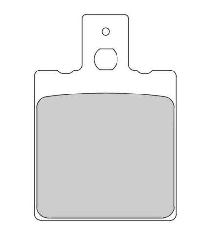 Тормозные колодки Ferodo FDB207P