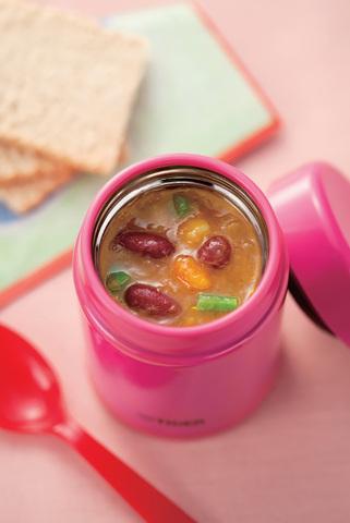 Термос детский для еды Tiger MCA-A (0,25 литра), розовый