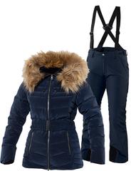 Тёплый горнолыжный костюм Joline Ewe Navy женский
