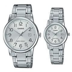 Парные часы Casio Standard: MTP-V002D-7B и LTP-V002D-7B
