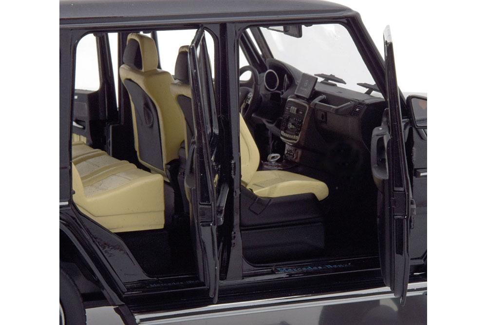 Коллекционная модель Mercedes-Benz W463 G-CLASS 2015 OBSIDIAN BLACK