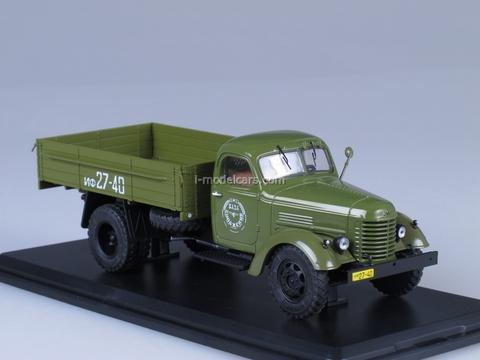 ZIS-150 board khaki Start Scale Models (SSM) 1:43