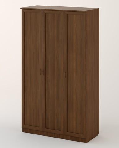 Шкаф ЛОМБАРДИЯ-06 рамочный орех темный