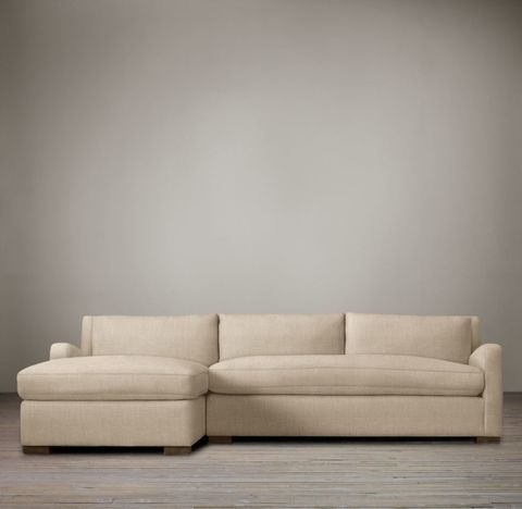 Belgian Slope Arm Left-Arm Sofa Chaise Sectional