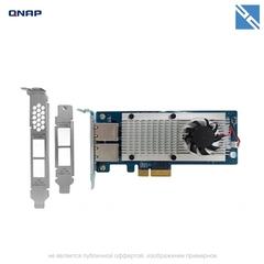 Сетевая карта QNAP Dual-Port 10GBASE-T Network Expansion Card