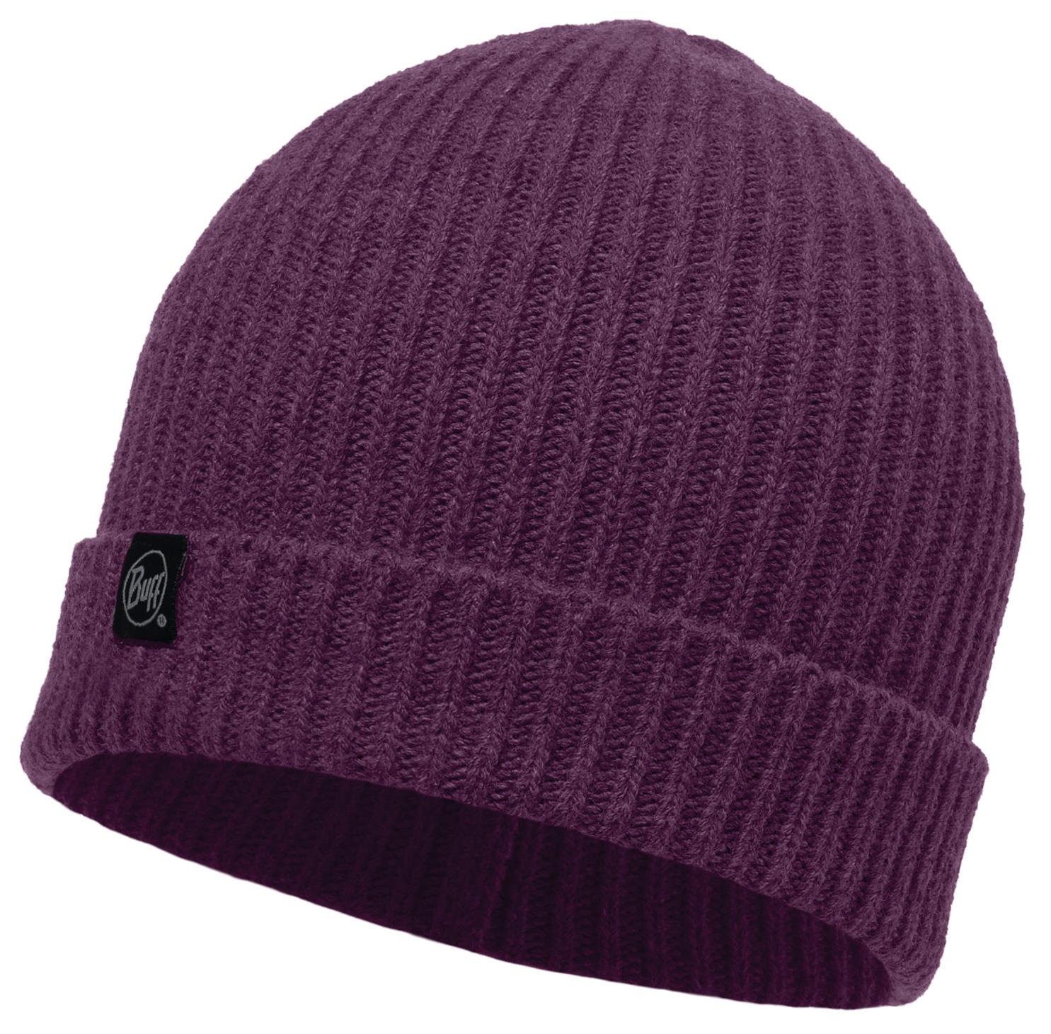 Вязаная шапка Buff Basic Blackberry