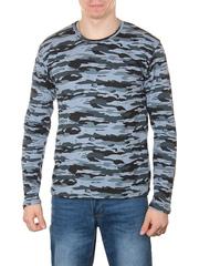 3460 футболка мужская дл. рукав, камуфляж