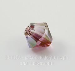 5328 Бусина - биконус Сваровски Crystal Lilac Shadow 6 мм, 5 штук