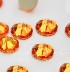 2088 Стразы Сваровски холодной фиксации Tangerine ss 34 (7,07-7,27 мм)