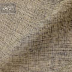 Бежево-коричневый лен