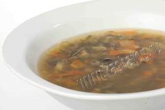 Рассольник с потрошками 'Каша из топора' Готовое блюдо
