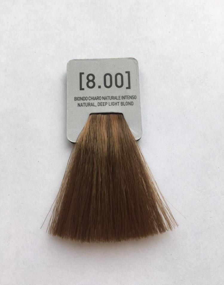 INCOLOR Крем-краска для волос [8.00]  Супер натуральный светлый блондин  (100 мл)