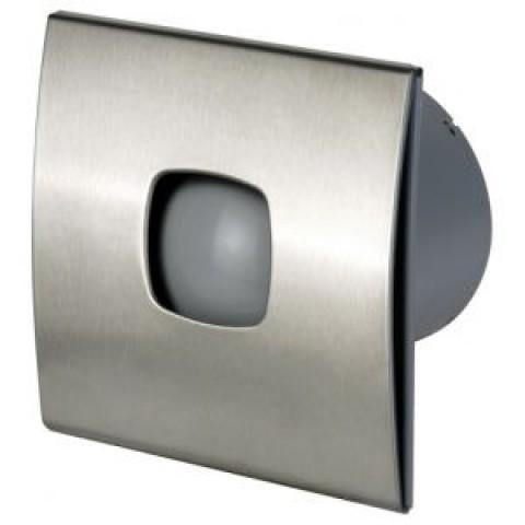 Вентилятор накладной Cata Silentis inox 10 Timer (таймер)