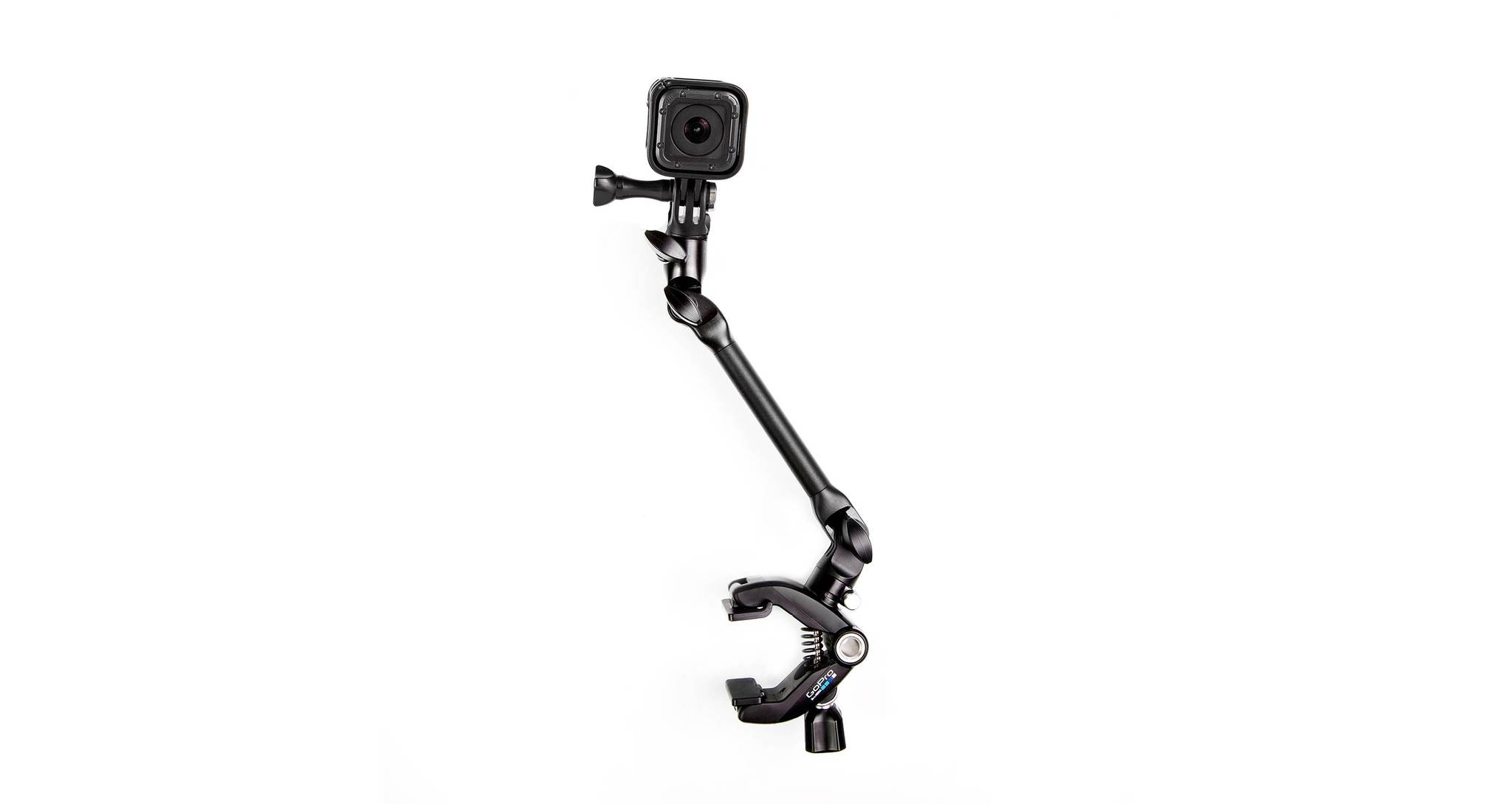 Крепление для музыкальных инструментов GoPro AMCLP-001 The Jam-Adjustable Music с камерой session