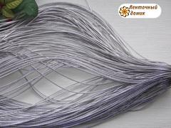 Шнур серебряный диаметр 2 мм