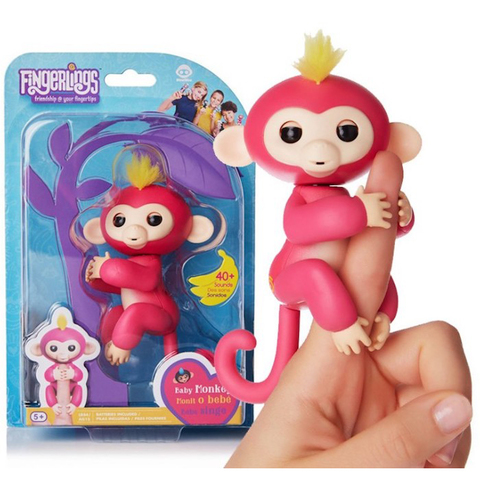 Интерактивная обезьянка Fingerlings Monkey (Фингерлинкс)