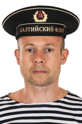 Бескозырка черная с лентой Балтийский Флот