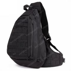 Тактический однолямочный рюкзак Protector Plus X-204 Черный