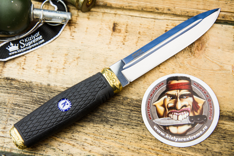 Тактический нож Пограничник-2 Полированный эластрон