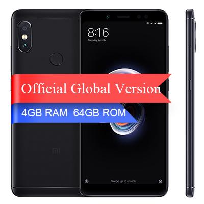 ed82051fb20b6 Смартфон Xiaomi Redmi Note 5 4/64GB Black (Черный) Global Version - купить  по выгодной цене | Thecase.ru