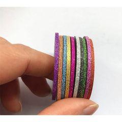 In'Garden, Декоративные ленты для дизайна ногтей с эффектом бархата