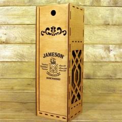 Коробка из фанеры для алкоголя Jameson 1 л