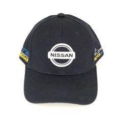 Кепка с вышитым логотипом Ниссан (Кепка Nissan) темно-синяя