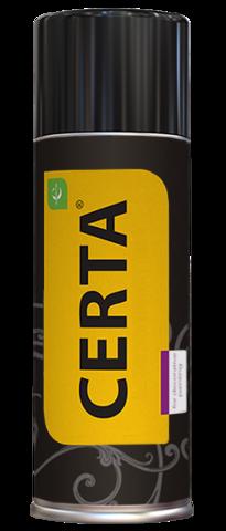 CERTA/ЦЕРТА Эмаль по металлу ЦЕРТА-ПЛАСТ в аэрозольном баллончике