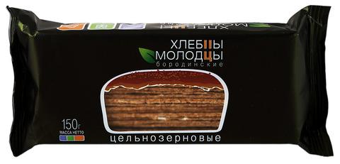 """Хлебцы """"Молодцы"""" бородинские цельнозерновые 150г"""