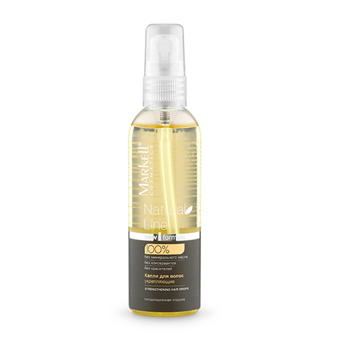 Markell Natural line Капли для волос укрепляющие 100 мл