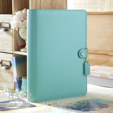 Планнер A5 BINDERS ONLY: Light Teal by Websters Pages (коллекция 2016!)