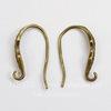 Швензы - крючки 18 мм (цвет - античная бронза)