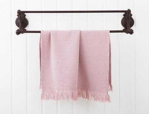 Полотенце кухонное 50х70 Luxberry Macaroni розовое