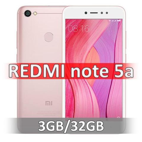 Xiaomi Redmi Note 5A (3-32Gb) Pink